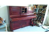 ANTIQUE ANGELUS SQUIRE PIANOLA BY SIR HERBERT MARSHALL, REGENT STREET, LONDON