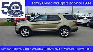 2012 Ford Explorer Limited 4WD | One Owner | 3rd Row Seat