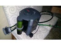 Eheim extrunal fillter pump with skimmer