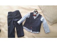 Next Boys waistcoat, suit and trousers