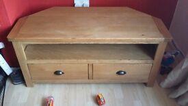 Wooden tv unit for sale