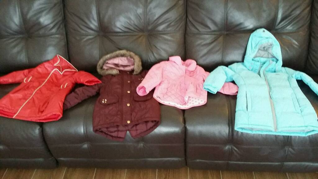 Bundle of girls coats aged 2-3 years | in Merthyr Tydfil | Gumtree