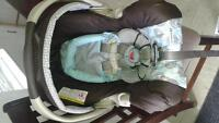 Graco infant car seat with stroller
