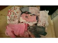 Free baby girl 3-6 months clothes