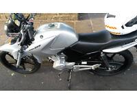 Yamaha YBR 125 Motorbike for Sale - £1500