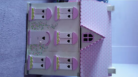 Chad Valley wooden doll's house