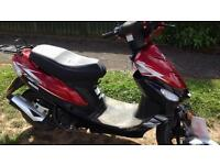 50cc digita moped