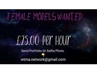 Female Model Work Offered