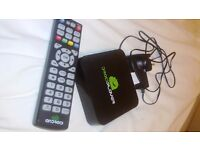 Droidplayer android box Quad core. As new.