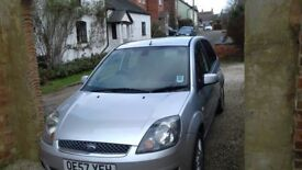 Fab Ford Fiesta tax and MOT for 1 year from April 18