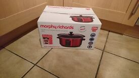 Brand New - Morphy Richards Sear and Stew Slow Cooker