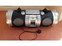 JVC RV-NB70 Boombox - Silver