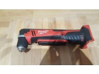 Milwaukee side angle drill 18v c18 rad