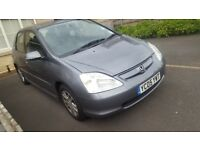 HONDA CIVIC VTEC EXECUTIVE AUTO HATCHBACK, Full leathers ,1590cc,5 Doors,2005,!hpi clear!must view!
