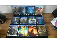 3D bluray collection, 23 in total
