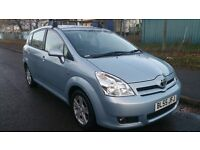 TOYOTA COROLLA VERSO 1.8 PETROL T3 7 SEATER HPI CLEAR 1 OWNER FROM NEW 1 YEAR MOT HPI CLEAR
