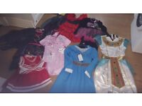 Girls Fancy dress bundle age 9-10 years and 7-8 years