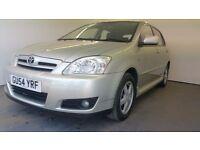 2004 | Toyota Corolla T3 VVTI | Auto | Petrol | 1 Former Keeper | 1 Year MOT | Service History