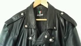 Dainese motorcycle leather jacket