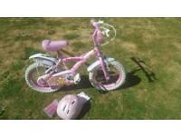 DaisyChain Girls Bike with Stabilizers