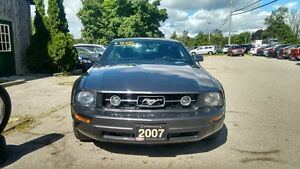 2007 Ford Mustang V6, Manual, Pony Package, Spoiler, 2 Sets of R Cambridge Kitchener Area image 7