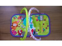 Fisher Price Bouncer, Playmat and Cot Kick Board Piano