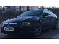 Stunning black BMW 645 Sport HPI CLEAR fully loaded Sat Nav, Upgraded LED Angel Eyes