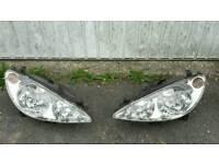 Peugeot 307 sw Head Lights