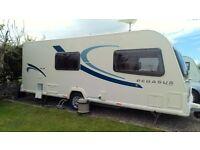 Bailey Pegasus Milan 2 2012 Immaculate condition 4 Berth Caravan