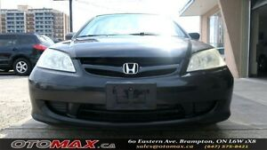 2005 Honda Civic LX-G  NO ACCIDENT   SUNROOF   ALLOY WHEELS   PO