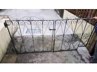 Steel forged Garden Gates