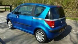 2006 Peugeot 1007 1.4 full mot full service history 67000 miles with warranty