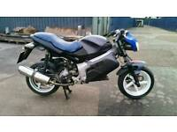 Gilera dna 180 registered as 125