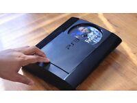 PS3 SUPER SLIM BLACK CONSOLE - 500GB