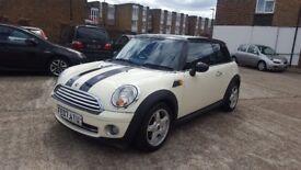 Mini Cooper petrol manual white