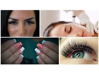 Russian lashes , Nails,Skin Care, make up/Hair artist and lots aff more treatments available