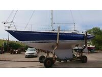CONTESSA 32 - MODERN CLASSIC YACHT, JUST REFITTED - GORGEOUS £49500 massive reduction