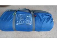 Out well Hertford s 4 man tent with living area!Can deliver or Post!