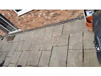 Patio Paving Slabs Naturally Weathered Grey