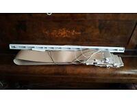 2x vertical blinds in beige 100cmx160cm