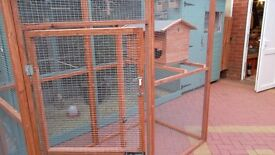 cat aviary 6ftx3ftx6ft high