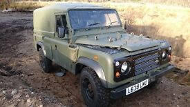 Ex Military Landrover 110
