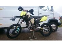 2004 ktm 525 enduro xc motocross sx off road green lane supermoto