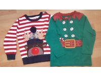 Christmas Jumper and Top 2 -3 Years