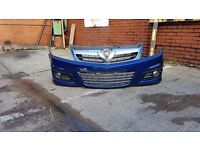 Vectra XP2 front bumper and side skirts