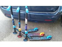 Quality build up scooters. Used once. FREE DELIVERY BRISTOL AND BRISTOL AREA