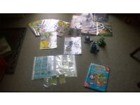 Pokemon Figures, Cards. Magazines and Posters