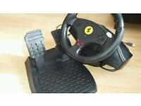 Thurstmaster racing steering wheel ps3 ps4