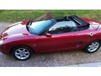 MGF 1.8 VVT Convertible Sportster 1800cc Stunning Nightfire Red – Runs & Drives Well Throughout