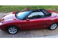 MGF 1.8 VVT Convertible Sportster 1800cc Stunning Nightfire Red – Runs & Drives Well Throughout